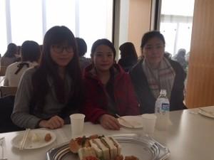 邰さんと留学生
